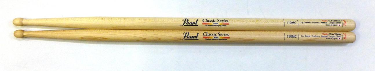 Pearl 110MC を 12set パール ドラムスティック メイプル