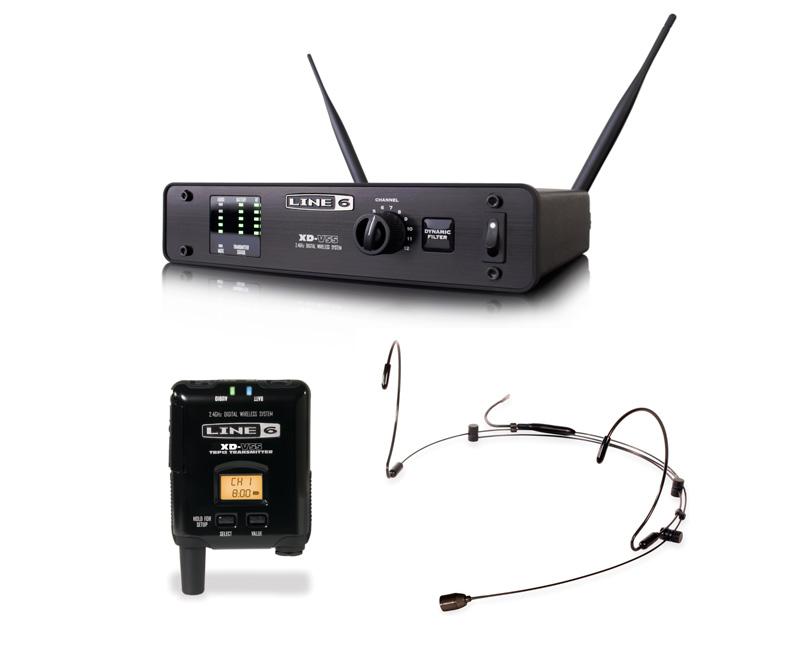 Line6 XD-V55HS デジタル・ワイヤレス・ヘッドセット・システム:SXDV55HS