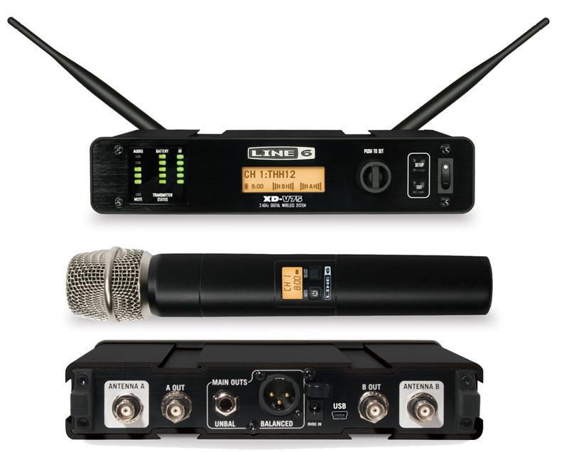 Line6 XD-V75 (ボーカル用ワイヤレスマイク):SXDV75