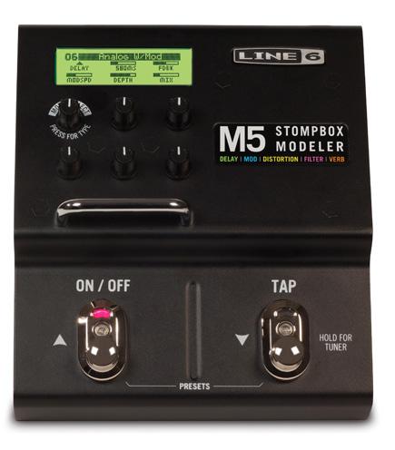 ストンプボックス MODELER:SM5 M5 Line6 ライン6 STOMPBOX