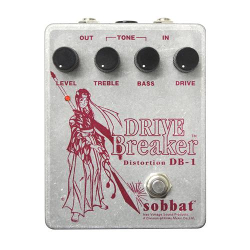 Sobbat DRIVE Breaker SB-DB1 ソバット 赤 ディストーション