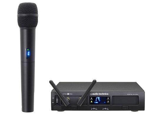 audio-technica ATW-1302 ラックマウント1chマイクロホンワイヤレスシステム:ハンドヘルドタイプ