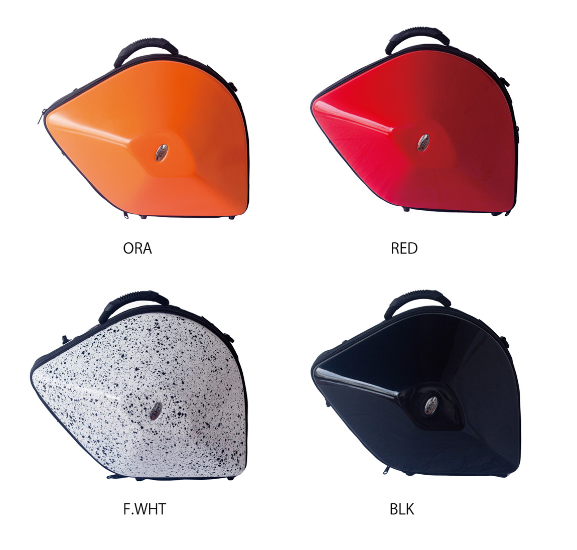 bags EVOLUTION FRENCH HORN ホルン用 ハードケース RED