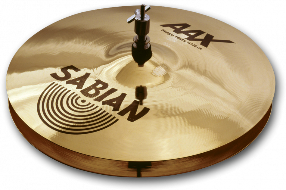 Sabian AAX-Stage Hats Brilliant Finish 14