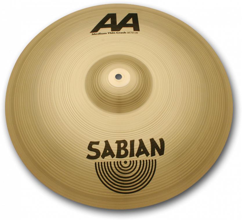 "Sabian AA-Medium Thin Crash 18""AA-18MTC-B セイビアン クラッシュシンバル Brilliant"