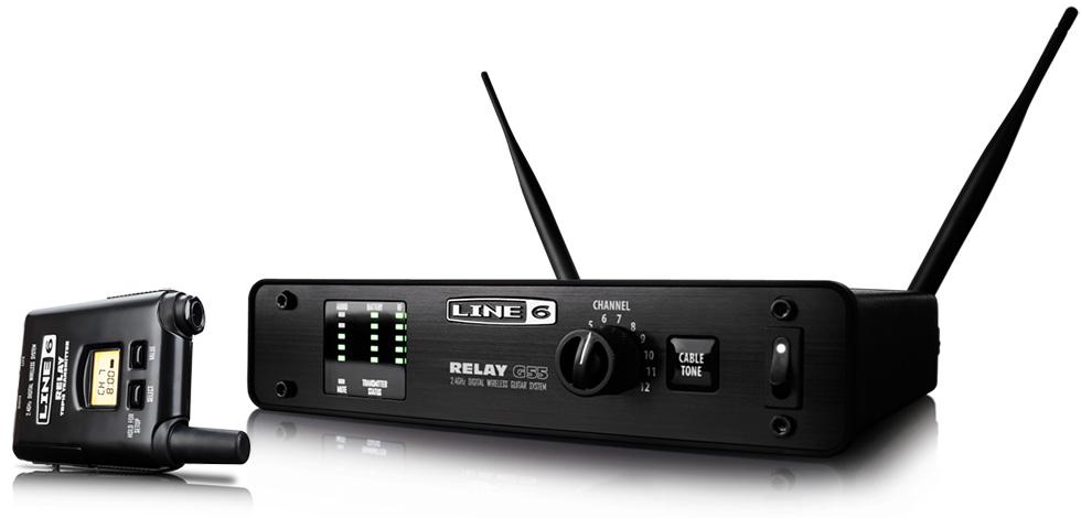 Line6 Relay G55 SRELAYG55 ライン6 ギターベース用 ワイヤレスシステム