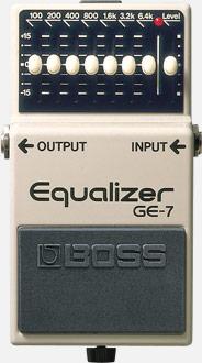 BOSS GE-7 Equalizer ボス イコライザー