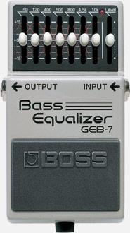 BOSS GEB-7 Bass Equalizer ベース用 イコライザー