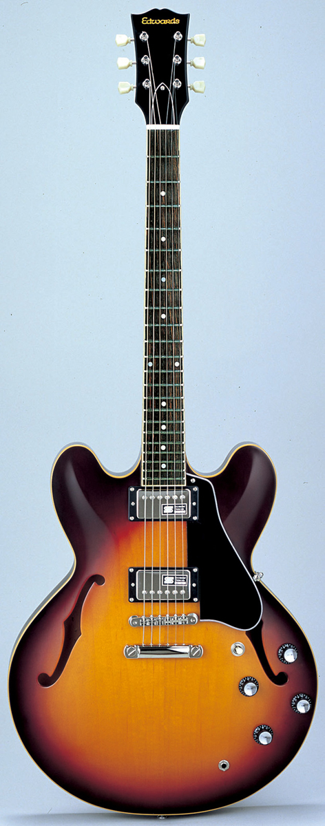 Edwards E-SA-160LTS TBS Tabacco Sunburst エドワーズ エレキギター
