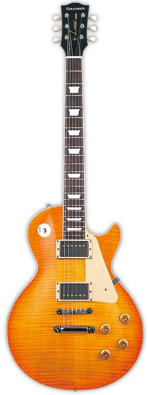 Edwards E-LP-125SD VHB Vintage Honey Burst リッターギグバックサービス エドワーズ レスポールタイプ