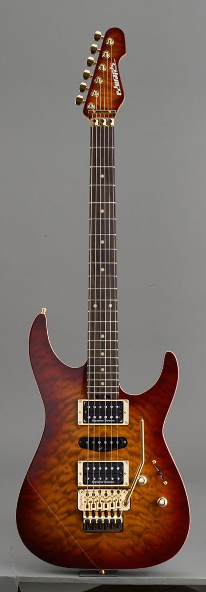 Edwards E-MR-165DT Cherry Brown Sunburst リッターギグバックサービス エドワーズ エレキギター