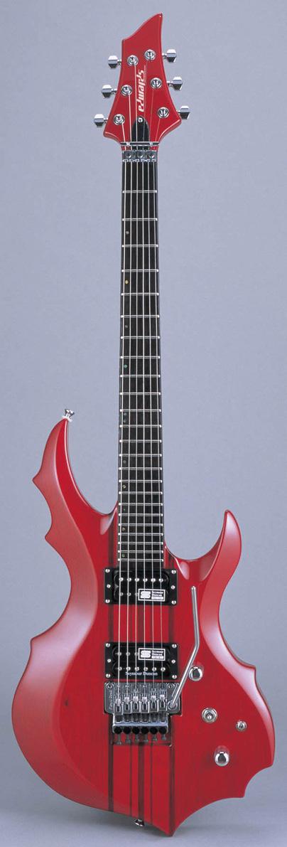 Edwards E-FR-145GT STR See Thru Red リッターギグバックサービス エドワーズ エレキギター
