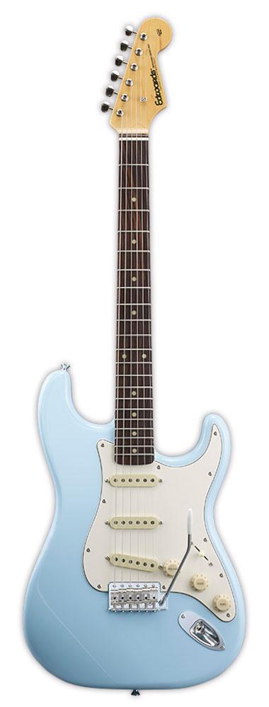 Edwards E-ST-90ALR SOB Sonic Blue リッターギグバックサービス エドワーズ エレキギター