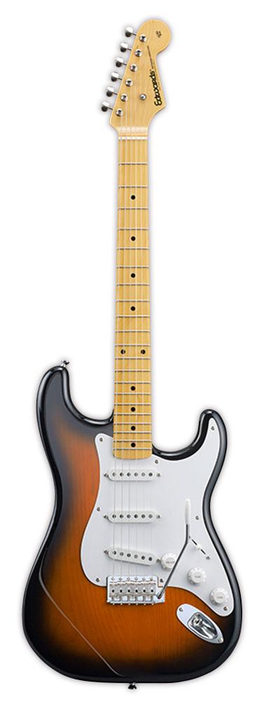 Edwards 2TS 2 Tone Sunburst リッターギグバックサービス エドワーズ エレキギター