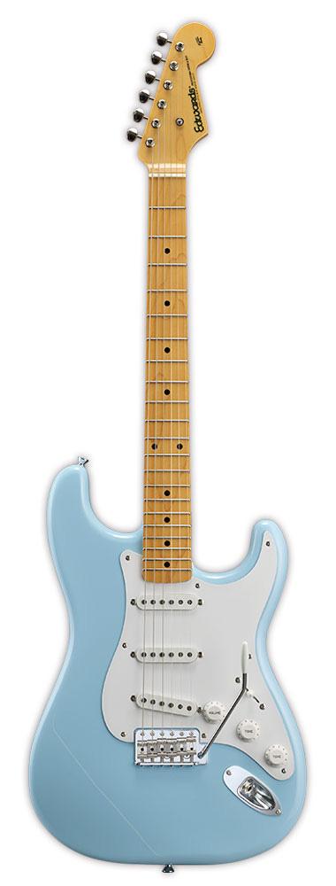Edwards E-ST-125ALM SOB Sonic Blue リッターギグバックサービス エドワーズ エレキギター