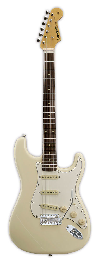 Edwards E-ST-125ALR VW Vintage White リッターギグバックサービス エドワーズ エレキギター