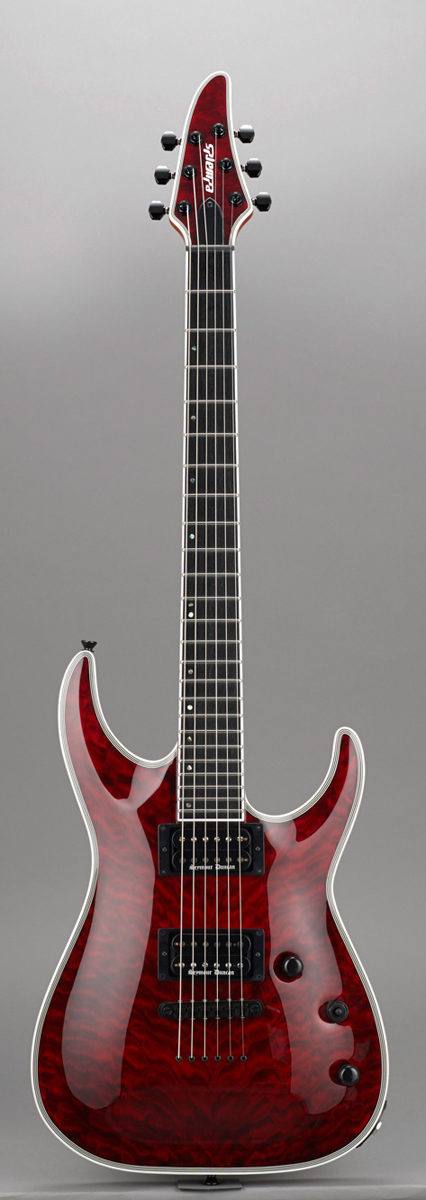 Edwards E-HR-145NT/QM BKCH Black Cherry リッターギグバックサービス エドワーズ エレキギター