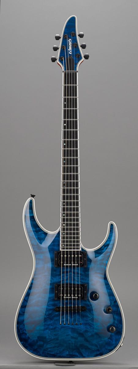 Edwards E-HR-145NT/QM BKAQ Black Aqua リッターギグバックサービス エドワーズ エレキギター