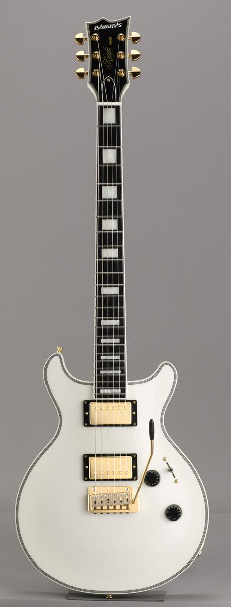 Edwards E-KT-145C WH Snow White リッターギグバックサービス エドワーズ エレキギター