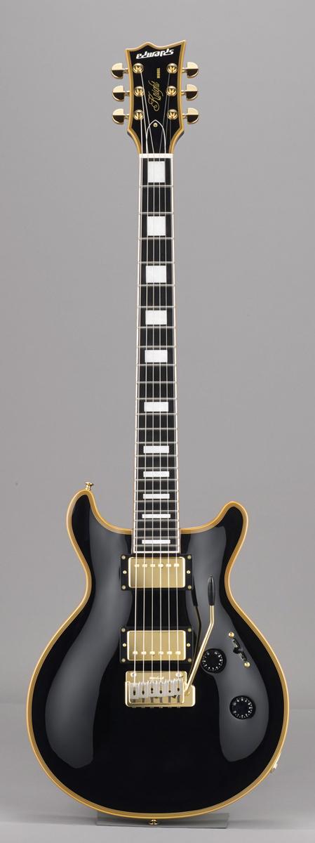 Edwards E-KT-145C BK Black リッターギグバックサービス エドワーズ エレキギター