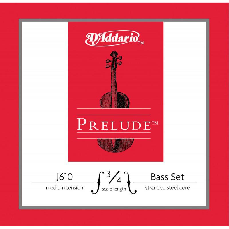 D'Addario Prelude J610 Set ダダリオ コントラバス用弦 セット