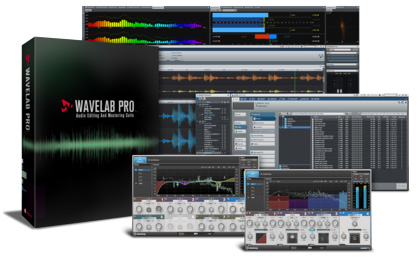 steinberg WaveLab Pro 9 リテール版 SWAVELABR
