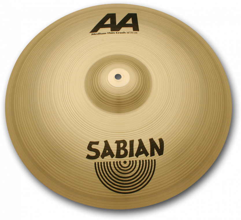 """Sabian AA-Medium Thin Crash:16""""AA-16MTC"""
