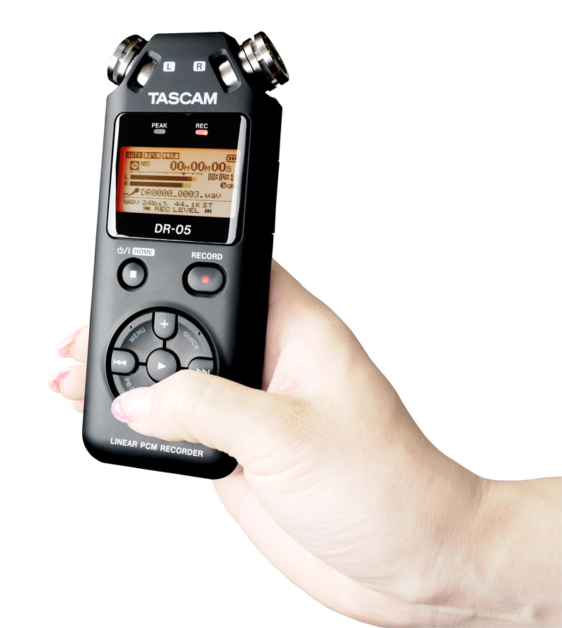 TASCAM DR-05 Version2 日本語対応版 タスカム SDカード レコーダー DR-05VER2-JJ