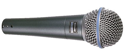 Shure Beta58A-X プロフェッショナル・ボーカル・マイク