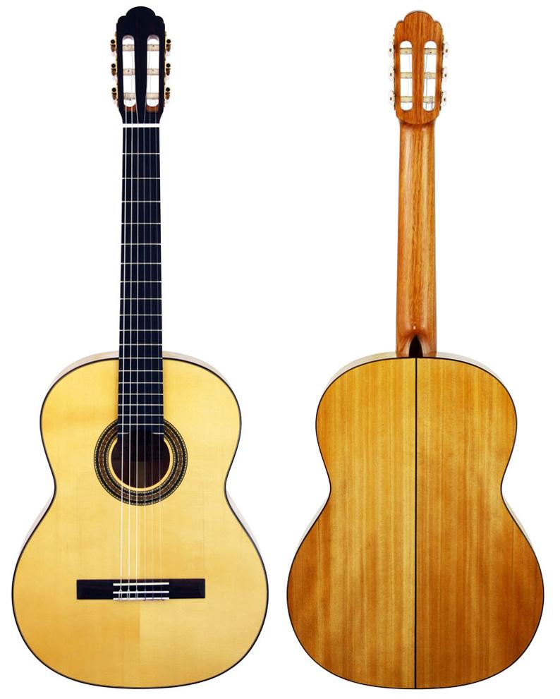 A-50F Aria (フラメンコギター) ハードケース付き