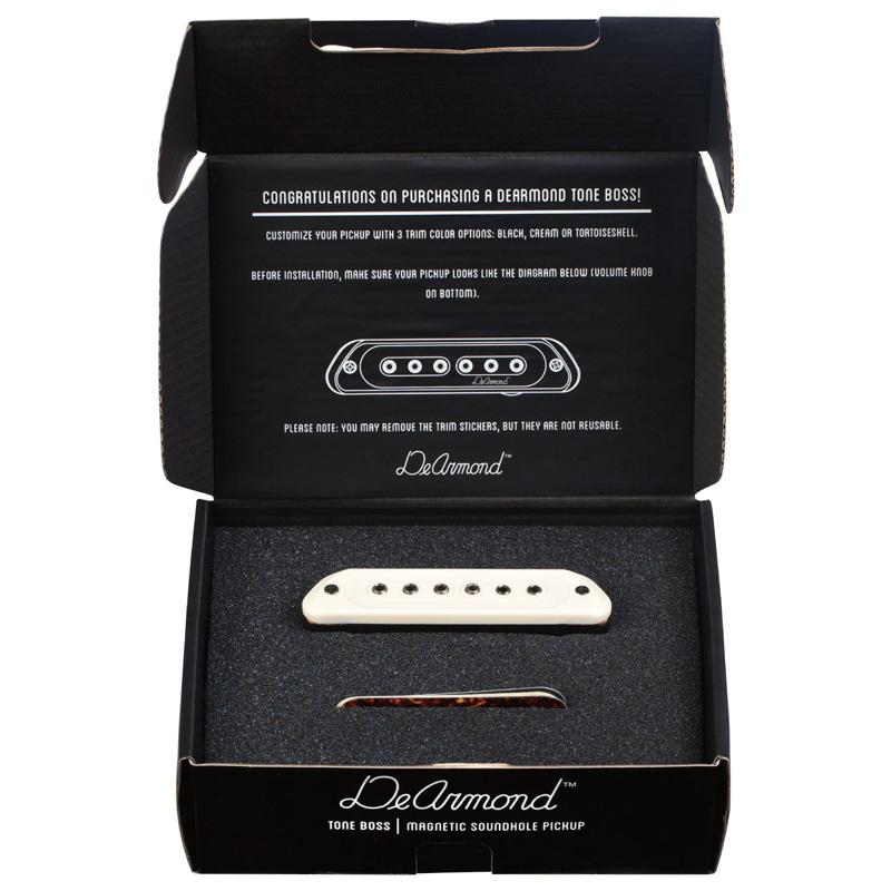 De Armond TONE BOSS アコースティックサウンドホールピックアップアコースティックギター用 ピックアップ