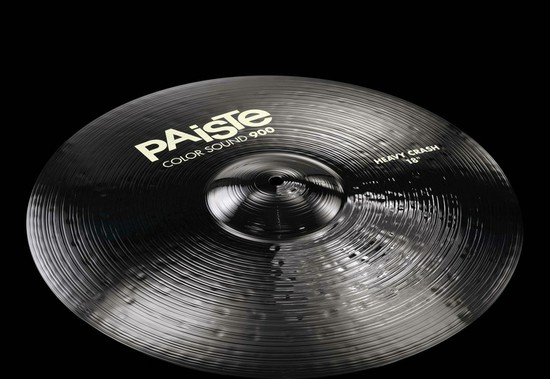 PAISTE Color Sound 900 Black Heavey Crash18