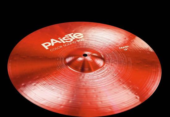 PAISTE Color Sound 900 Red Crash18