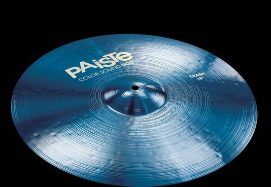PAISTE Blue Color Sound クラッシュ 900 Blue 900 Crash16