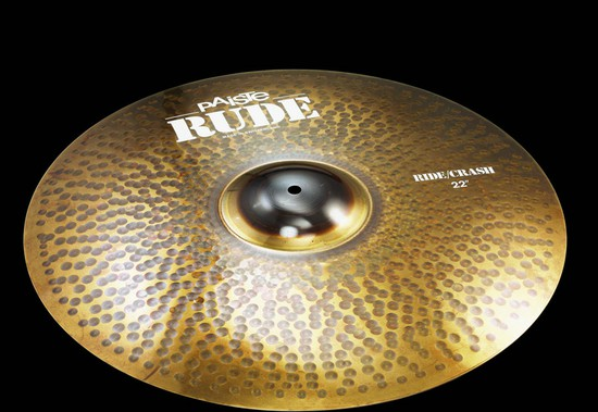 高級品市場 PAISTE Rude Ride Crash PAISTE Crash Ride 20