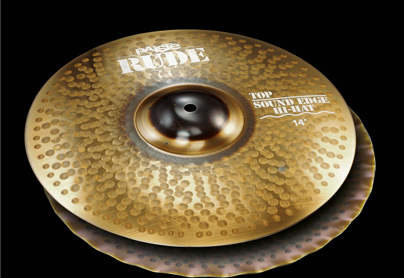 PAISTE Hi-Hat Rude PAISTE Sound Edge Hi-Hat 14