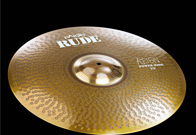 PAISTE RUDE Power Ride Reign 22