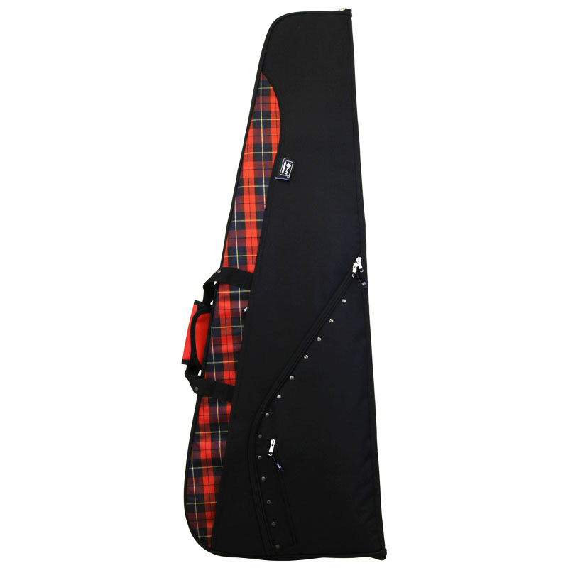 LORZ(ローツ) ベースケース LORZ-BW Electric Bass LORZflare BK-R (Red Tartan & Black)