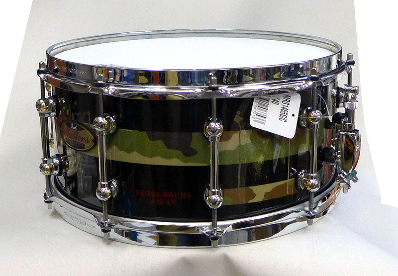 Pearl パール Masters Maple Reserve MRS1465S/C Y40 (Designed by Testu)ソフトケース付
