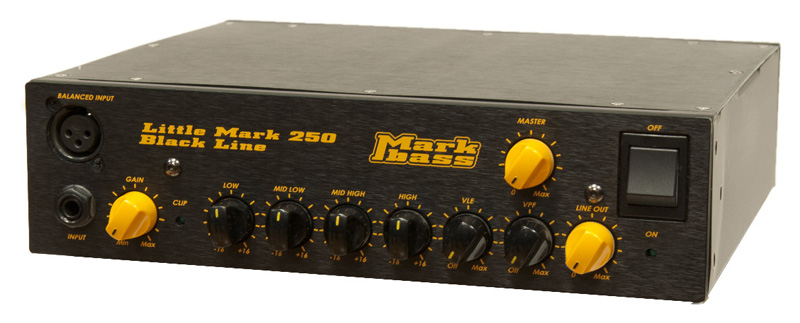 Markbass Little Mark 250 Black Line (MAK-LM250/BK) マークベース ヘッドアンプ