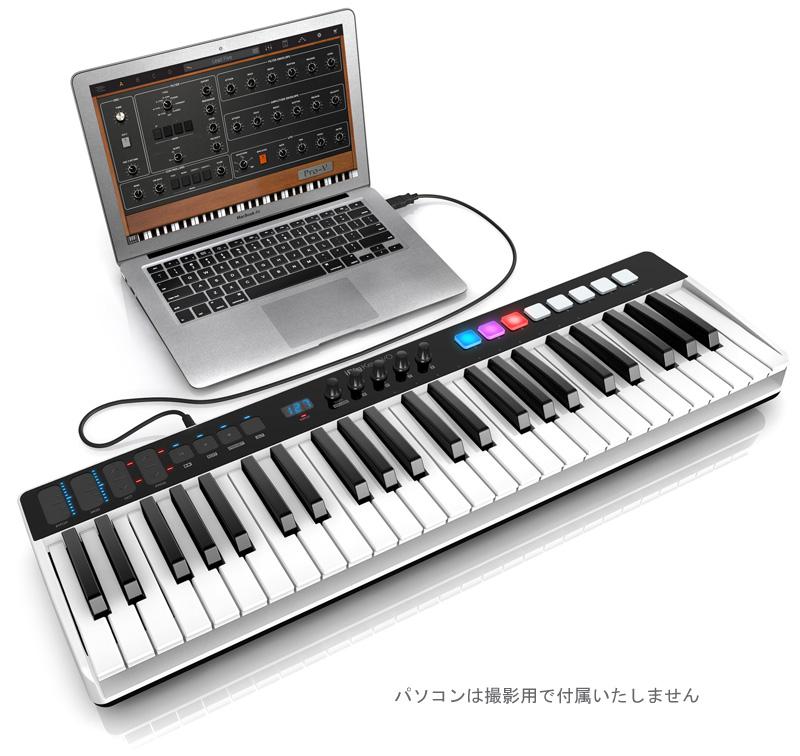 IK Multimedia iRig Keys I/O 49 オーディオ・インターフェイス&MIDIキーボード【国内正規品】
