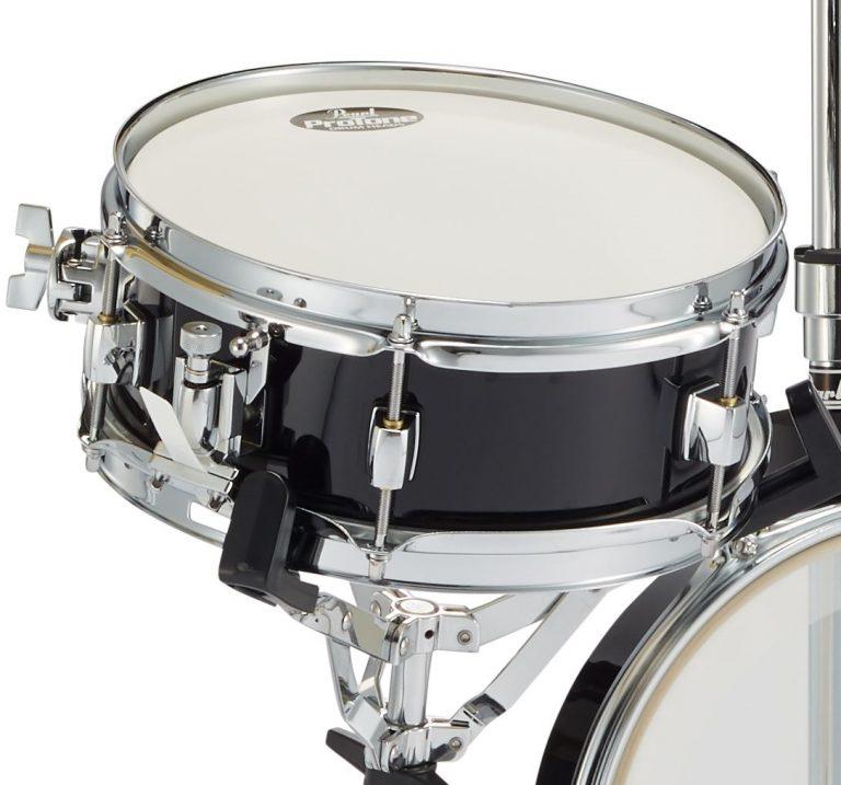 Pearl Rhythm Traveler Effact Snare Drum RTN-1004SN #31 Jet Black(スタンドアダプターPPS37サービス)