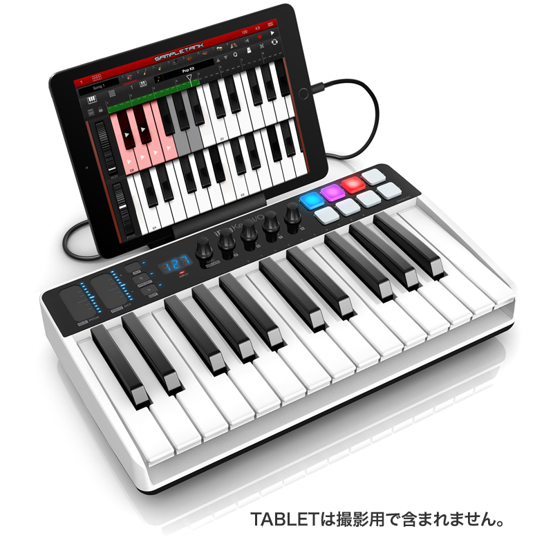 IK Multimedia iRig Keys I/O 25 オーディオ・インターフェイス&MIDIキーボード【国内正規品】