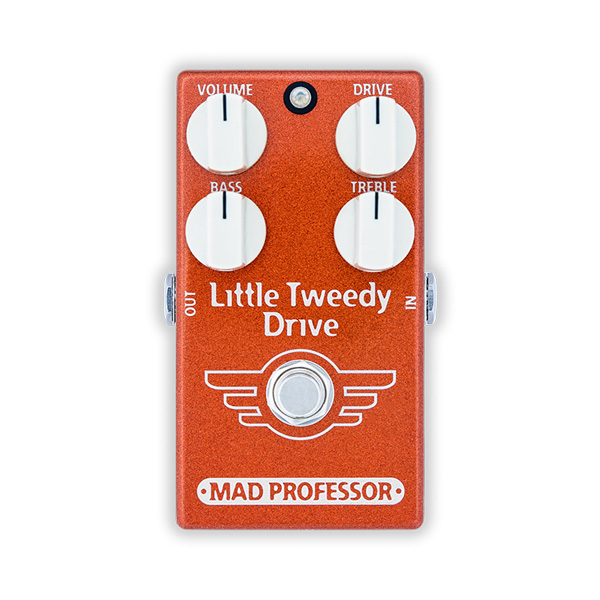 Mad Professor Little Tweedy Drive FAC スモールサイズのツイードアンプのトーンを再現