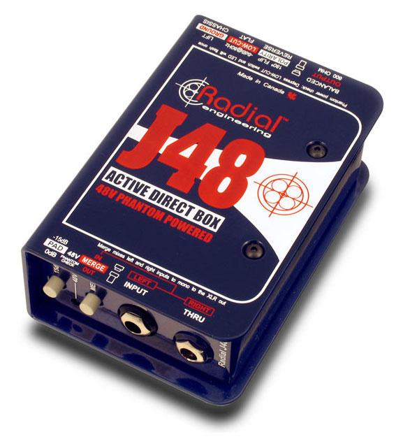 Radial ダイレクトボックス アクティブDI Radial J48