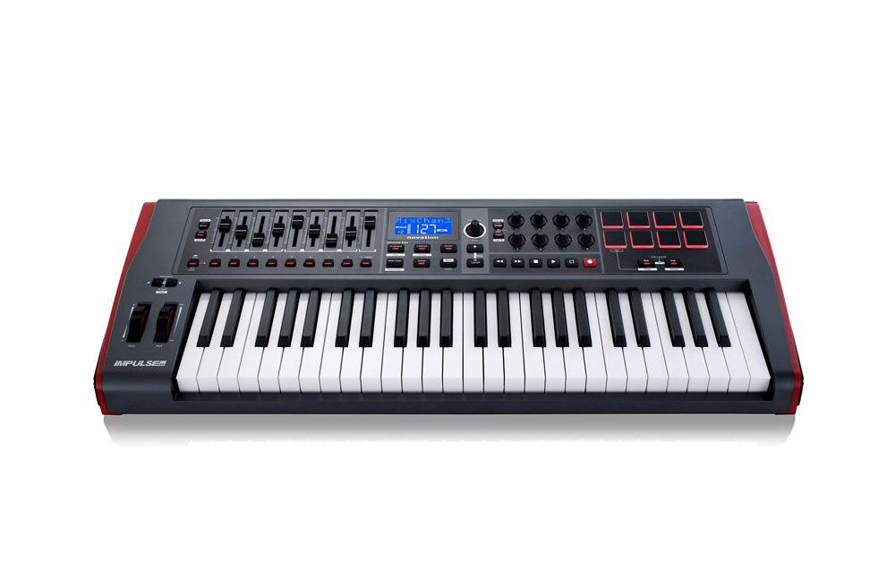 早い者勝ち novation IMPULSE 49 49鍵MIDI キーボード・コントローラー, アズママチ 646d2b75