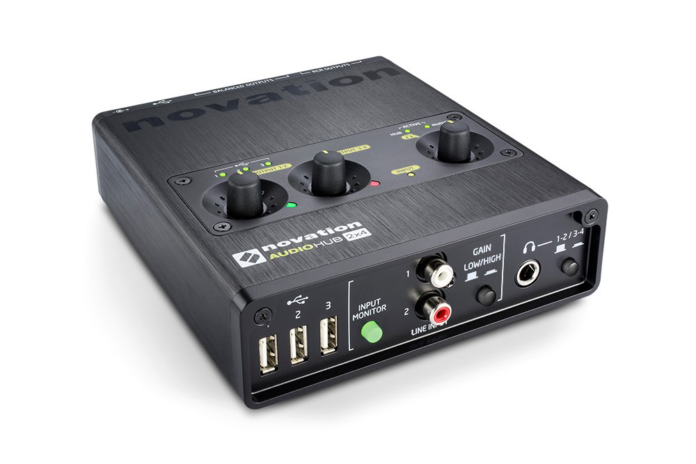 novation Audiohub 2x4 USB2.0オーディオインターフェイス