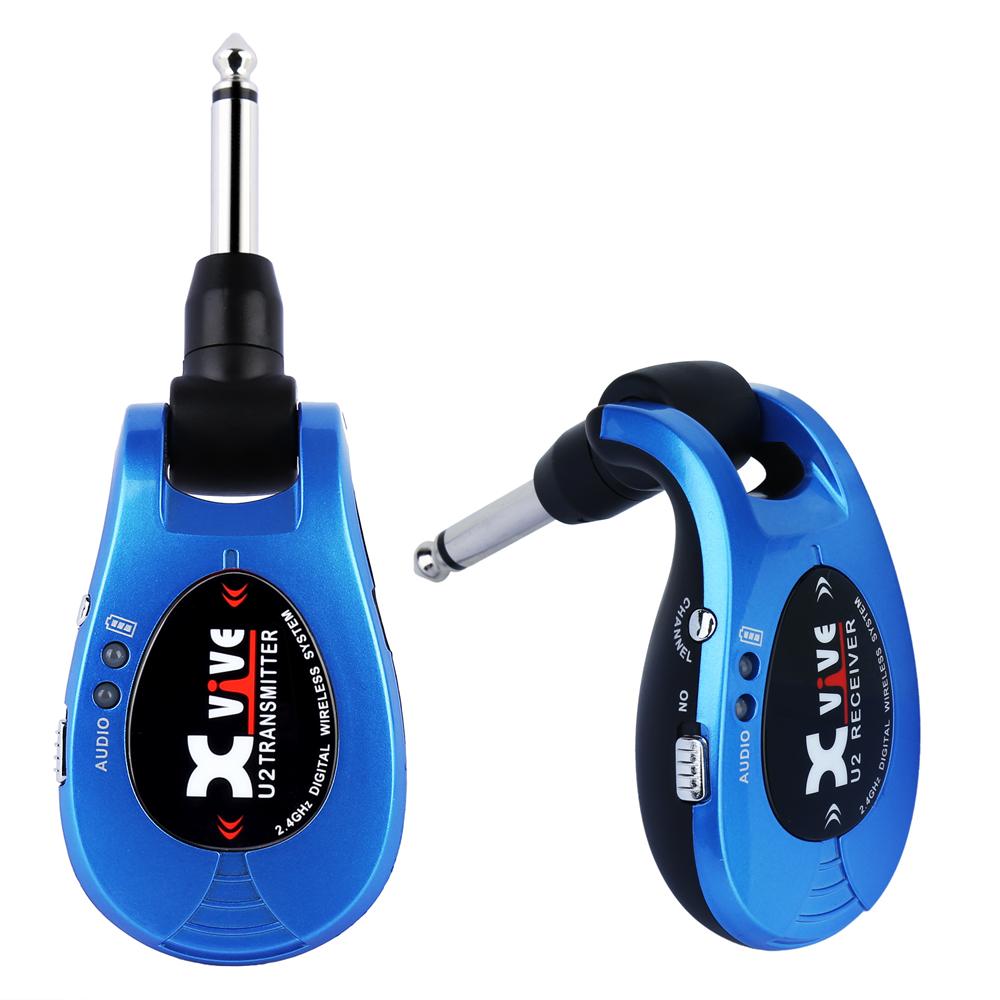 Xvive U2 Wireless Guitar System XV-U2/BL BLUE ワイヤレスシステム