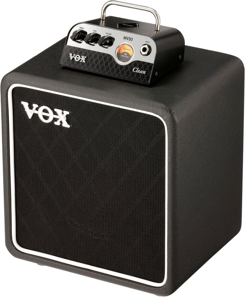 VOX 新真空管Nutube搭載 MV50 Clean Set ギターアンプ(Clean) ヘッド&キャビネットセット MV50-CL-SET