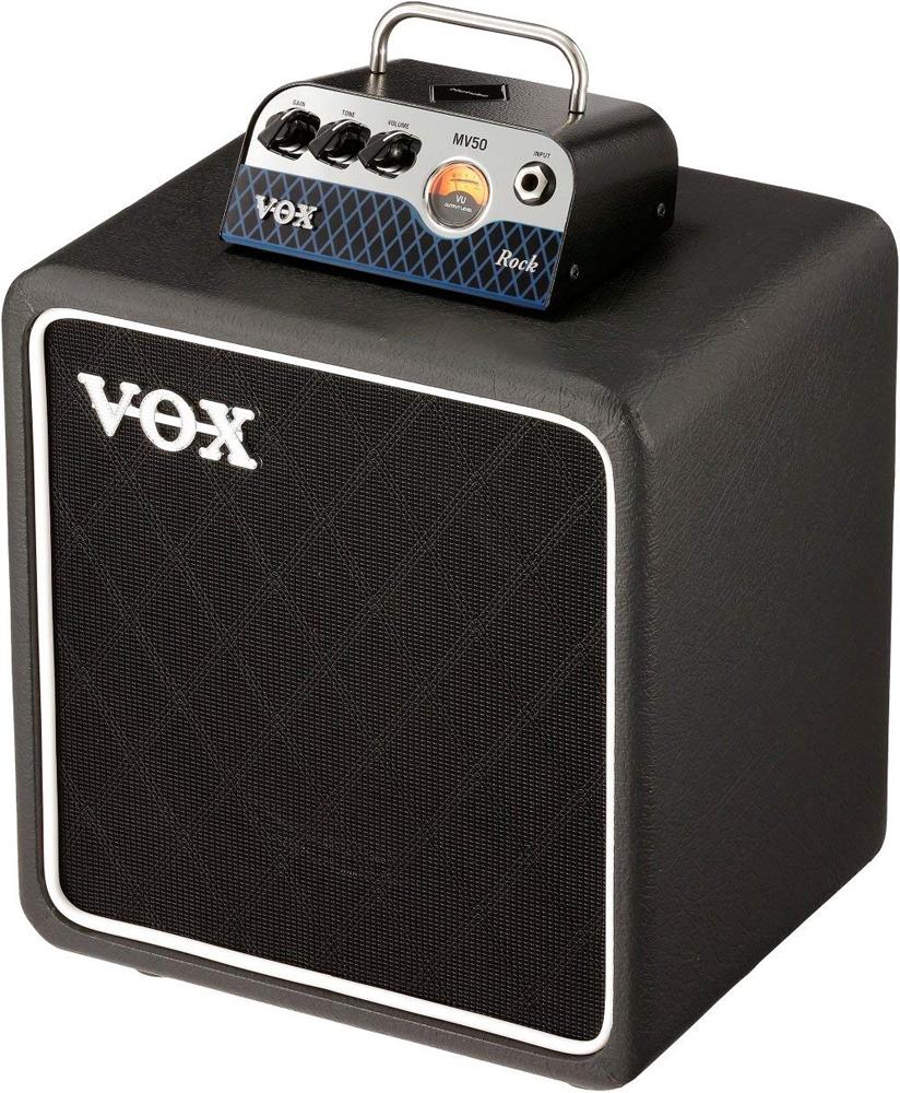 VOX 新真空管Nutube搭載 MV50 Rock Set ギターアンプ ヘッド&キャビネットセットMV50-CR-SET